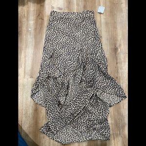 Flynn Skye Erie Skirt In Leopard